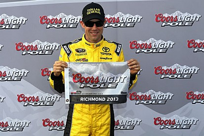 Prima fila tutta Joe Gibbs Racing a Richmond