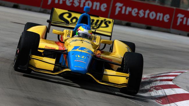 Conway straccia la concorrenza in gara 1 a Detroit