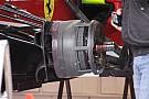 La Ferrari con una nuova presa dei freni sulla F138