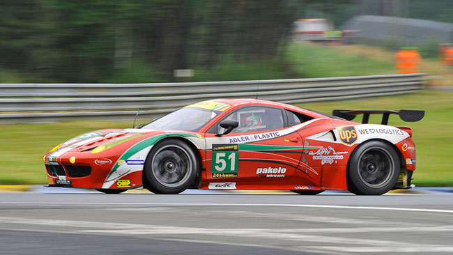 Le Mans: Malucelli crea scompiglio in corsia box
