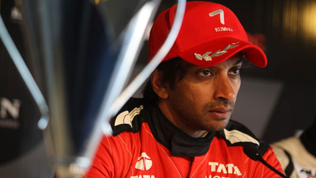 Karthikeyan contento di aver continuato in Auto GP
