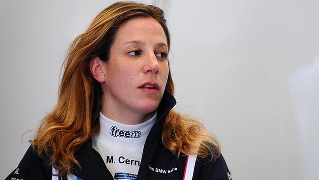 Michela Cerruti debutta in AutoGp con la MLR71