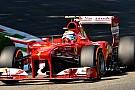 La Ferrari sostituisce il motore di Felipe Massa