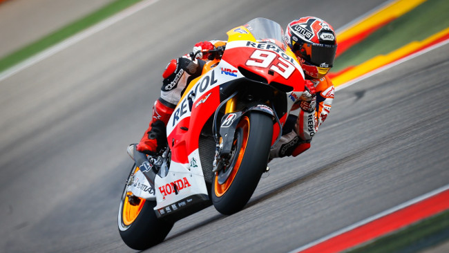 Aragon, Qualifica: Marc Marquez per un centesimo!