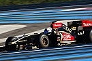 36 giri con la Lotus all'esordio in F.1 per Fontana
