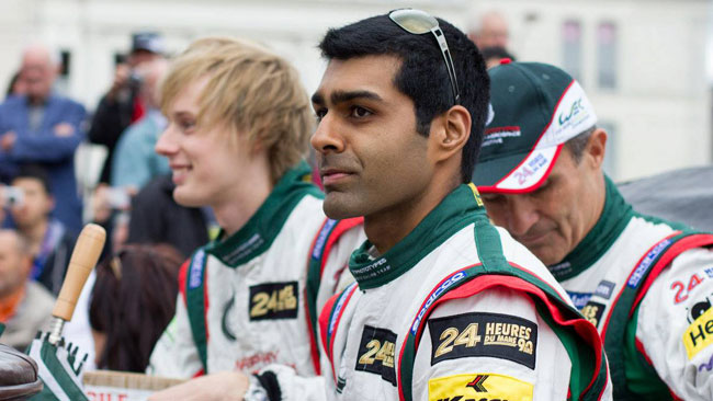 Chandhok valuta un programma in Indycar nel 2014