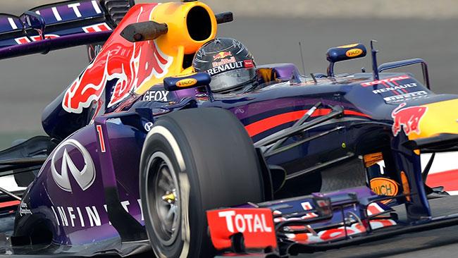 India, Libere 2: Vettel si conferma l'uomo da battere