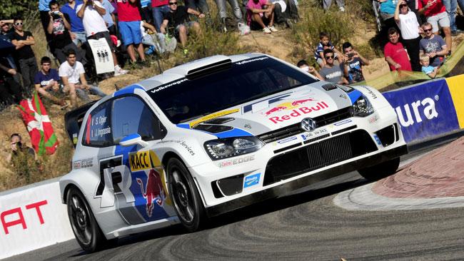 Ogier regala anche il Costruttori alla Volkswagen!