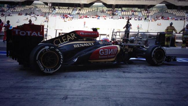 Abu Dhabi, Libere 1: Grosjean davanti a tutti
