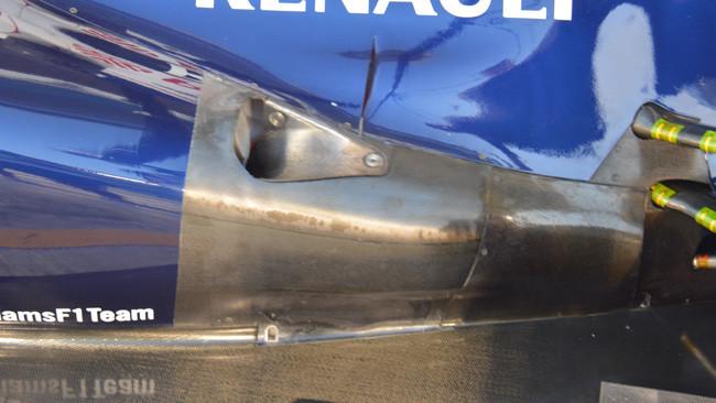 La Williams simula il carico posteriore 2014?