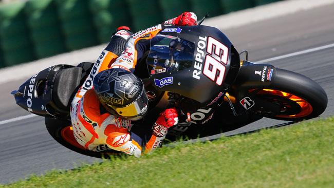 Valencia, Day 2, Ore 13: Marquez si migliora ancora