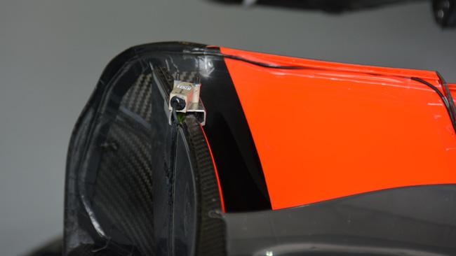 McLaren: c'è anche un sensore rudimentale