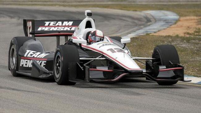 Montoya ha completato il primo test con la Penske