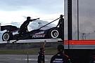 Il vento rinvia il primo test su ovale di Montoya