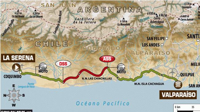 Dakar 2014: 157 km di speciale per l'ultima tappa