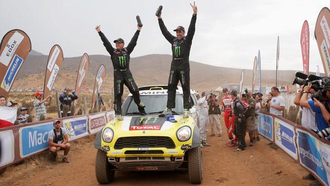 Dakar 2014, Auto: Nani Roma re nella tripletta Mini
