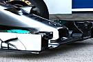 Mercedes W05: sospensione anteriore a diapason!