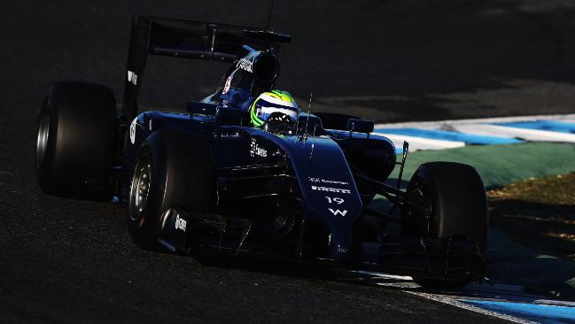 Felipe Massa in Williams ha ritrovato il sorriso