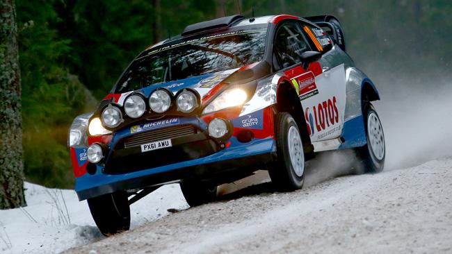 Svezia, PS20: Kubica alla terza uscita di strada