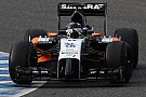 Force India in Bahrein solo con i piloti titolari