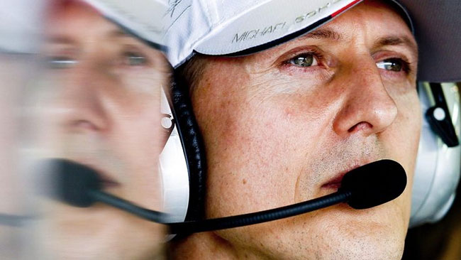 Schumacher: la telecamera ha danneggiato il casco?