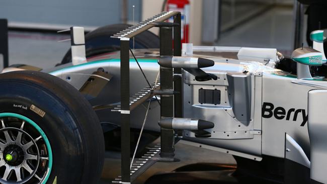 Mercedes: acquisizione dati da Guerre Stellari!