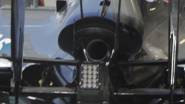 La Mercedes allarga lo sfiato dell'aria centrale