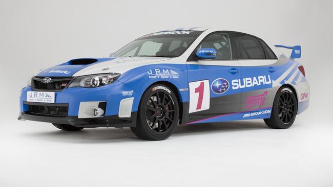JRM si tuffa nell'Europeo con la nuova Subaru WRX