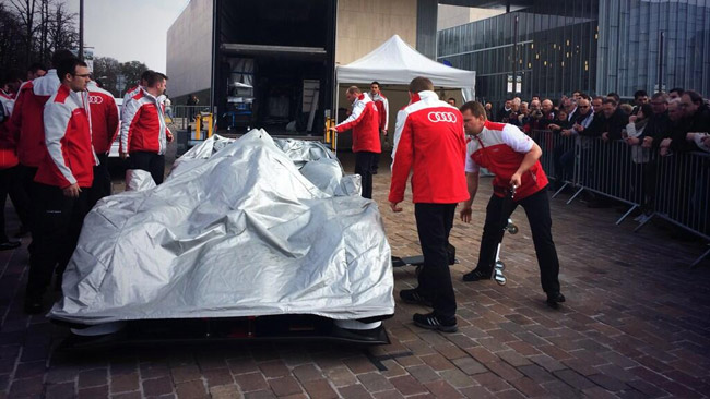 Lancio Audi R18 2014: a Le Mans fervono i preparativi