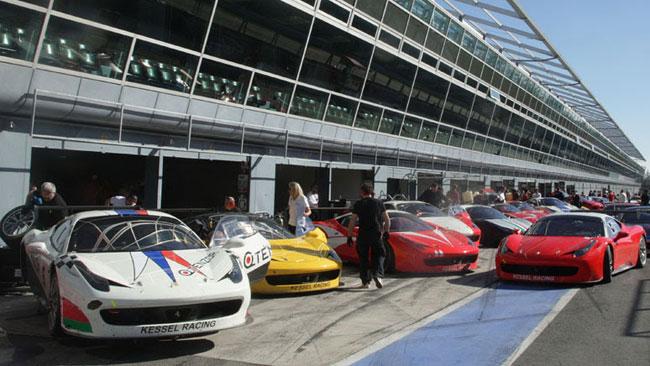 Kessel Racing al via con ben otto vetture nel 2014