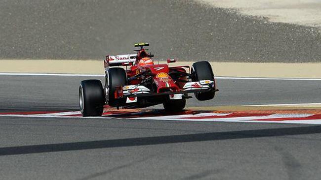 Raikkonen: si è rotta una pinza dei freni della F14 T