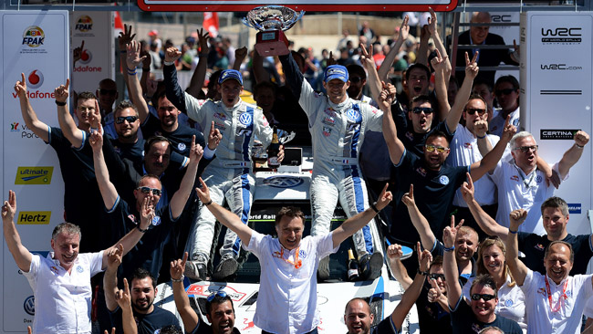 Striscia record di otto vittorie per la Volkswagen
