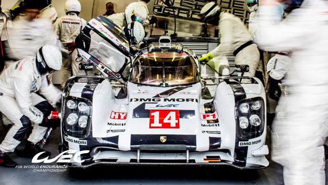 Spa, Libere 2: la risposta della Porsche sull'asciutto
