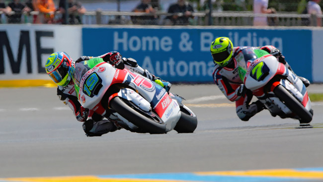 Baldassarri sogna i primi punti in Moto2 al Mugello