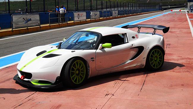 Primi test a Franciacorta per la Lotus Cup Italia