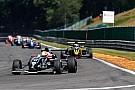 Barnicoat penalizzato, Leclerc sul podio