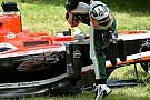 Chilton: tre posizioni in griglia per il crash con Bianchi