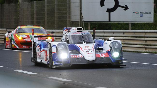 Toyota davanti nelle Prove Libere a Le Mans