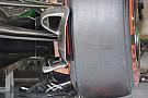 La McLaren con nuove prese dei freni anteriori