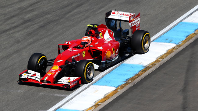Hockenheim, Q2: eliminati Button e Raikkonen!
