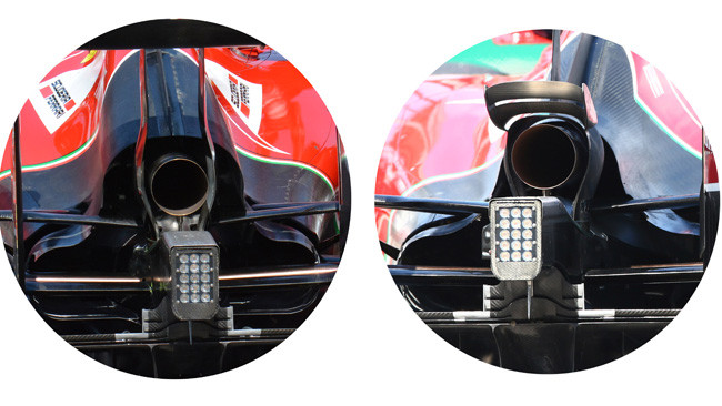 Ferrari: due cofani diversi per Kimi e Fernando