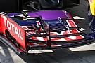 Red Bull: chiuso un soffiaggio nell'ala davanti