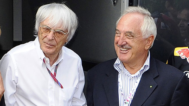 Il Bernie Ecclestone Award va a Frank Williams