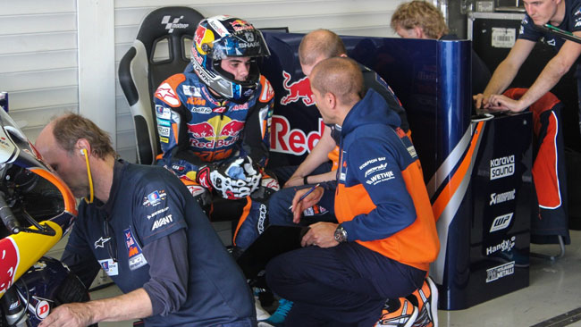 Jerez, Day 1: KTM in grande spolvero