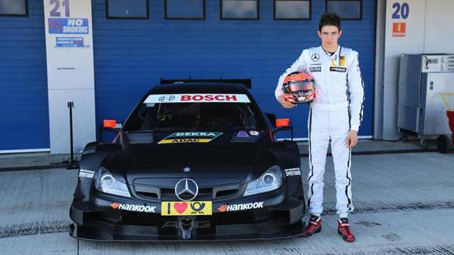 Cinque giovani sulla Mercedes nei test di Jerez