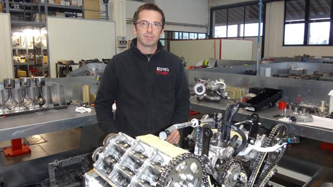 Dakar: Albertinazzi racconta il motore della Titano