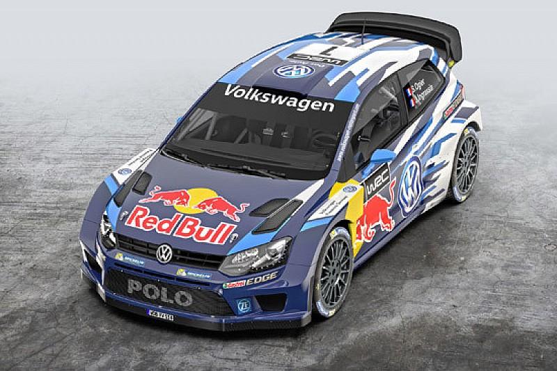 Le Volkswagen Polo R WRC diventano blu scuro