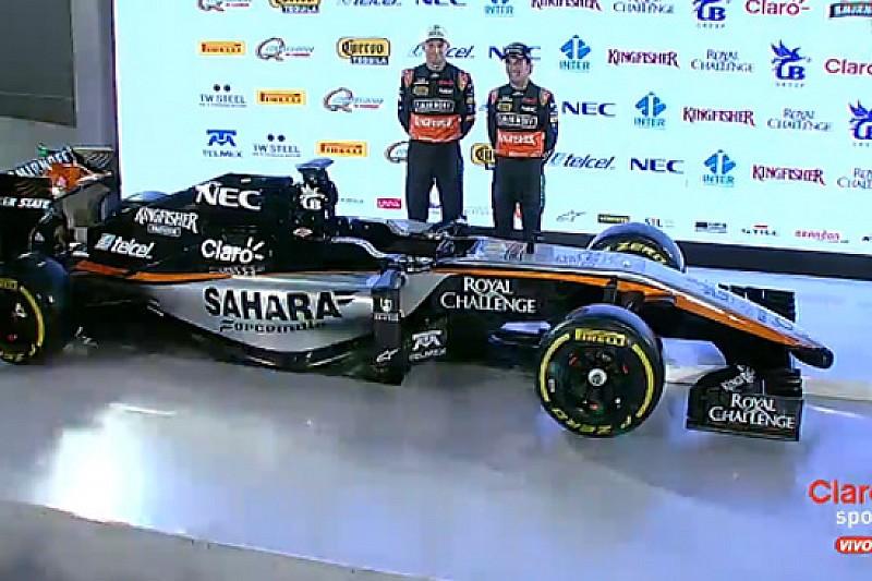 La Force India ha svelato i suoi colori per il 2015