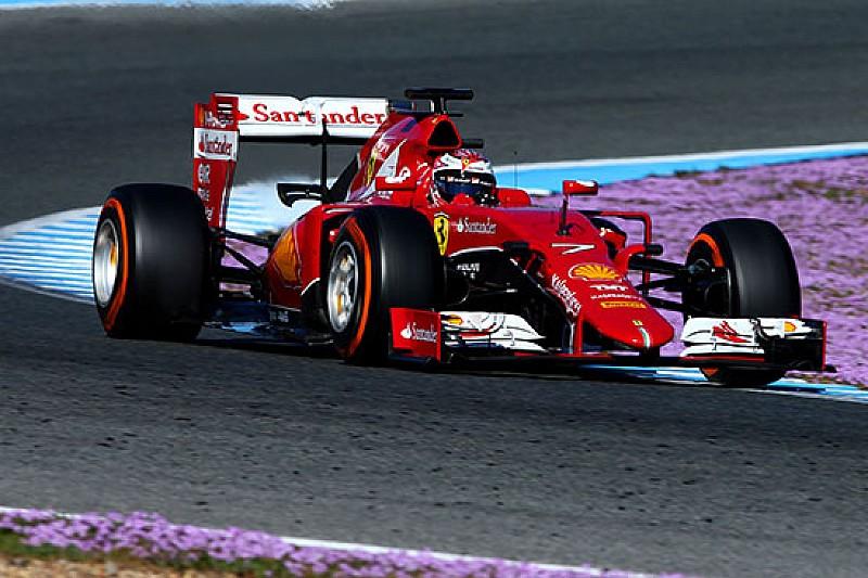 Test Jerez: i due ferraristi dominano la cumulativa