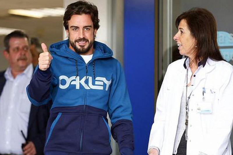 Alonso ha lasciato l'ospedale e torna a casa